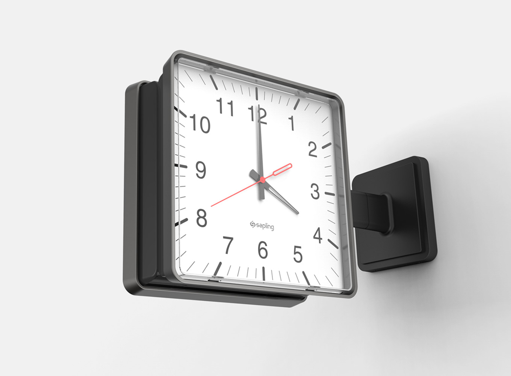 Ronco Synchronized Clock Systems by Sapling for Education K-12