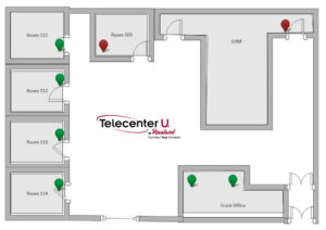 Rauland Telecenter U's Enhanced Mapping Feature For K-12 Schools